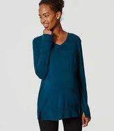 LOFT Maternity Refined Sweater