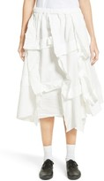 Comme des Garcons Women's Layered Twill Skirt