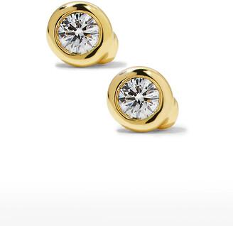 Roberto Coin 18k Diamond Stud Earrings