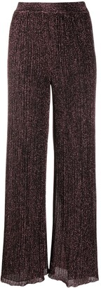 Missoni Metallic Pinstripe Wide Leg