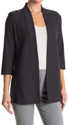 Eileen Fisher 3/4 Length Sleeve Long Jacket