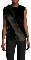 Jason Wu Wool Fur Front Vest