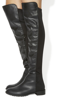 Office Kiwi Flat Over The Knee Boots