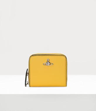 Vivienne Westwood Alex Medium Zip Wallet Yellow