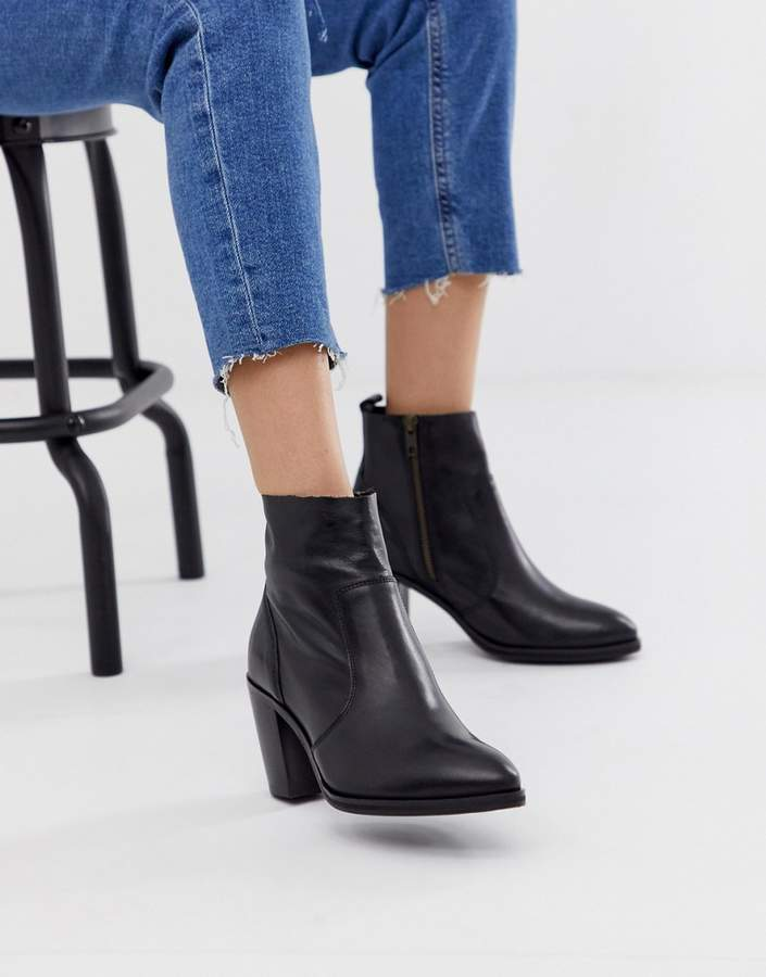 e049a72b5 Office Black High Heel Boots For Women - ShopStyle Australia