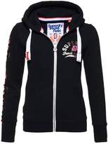 Superdry Tracksuit top eclipse navy
