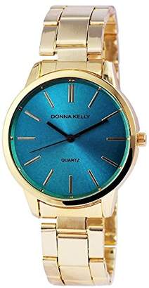 Donna Kelly Womens Analogue Quartz Watch with Stainless Steel Strap 191303500002