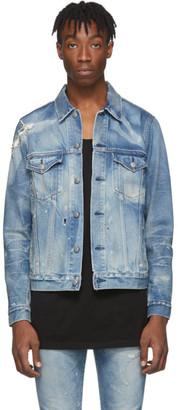 John Elliott Blue Denim Thumper Type III Jacket