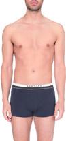 Versace Titan low-rise stretch-cotton trunks