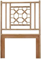 Jeffan Rattan Pole Twin Headboard