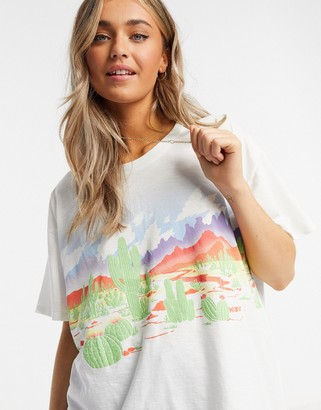 Wrangler Oversize T-shirt in White