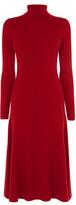 Karen Millen Rib Knitted Rollneck Merino Dress