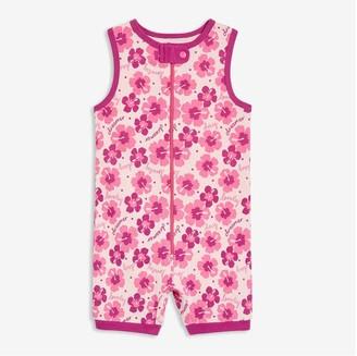 Joe Fresh Baby Girls' Sleeveless Sleep Romper, Pastel Pink (Size 0-3)