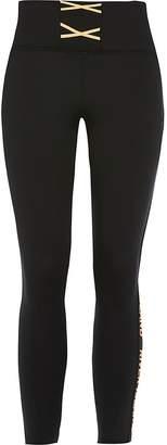 River Island Girls RI Active black lace-up leggings