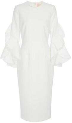 Roksanda Bridal Camellia crApe gown