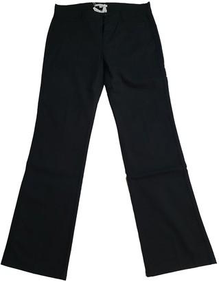 Marella Black Cotton - elasthane Jeans for Women
