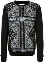 Yoshio Kubo bandana print sweatshirt