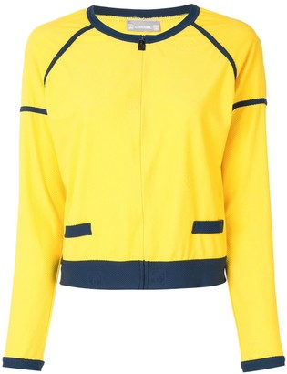 Chanel Pre Owned 2006 Sport line collarless jacket