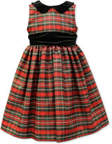 Jayne Copeland Metallic Plaid Special Occasion Dress, Big Girls (7-16)