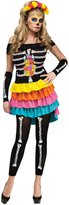 Fun World Costumes Morris Costumes Day Of Dead Footless Leggings