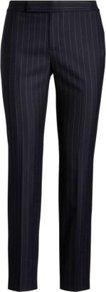 Ralph Lauren Wool-Blend Skinny Trouser