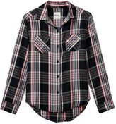 Mudd Girls 7-16 & Plus Size Button-Front Plaid Shirt