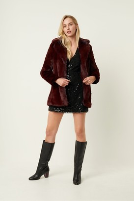 French Connection Danita Faux Fur Coat
