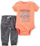 Carter's Baby Boy Dinosaur Bodysuit & Pants Set