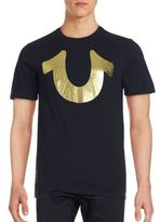 True Religion Gold Horseshoe Logo Shirt