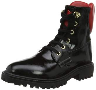Love Moschino Women's St.ttod. Gomma Ankle Boots