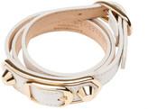 Balenciaga Classic Metallic Edge Bracelet Triple Tour
