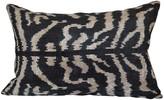 Orientalist Home Beyoglu 16x24 Ikat Pillow - Black