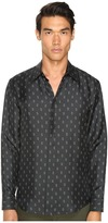 Marc Jacobs Slim Fit Silk Twill Button Up