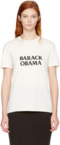 6397 White barack Obama T-shirt