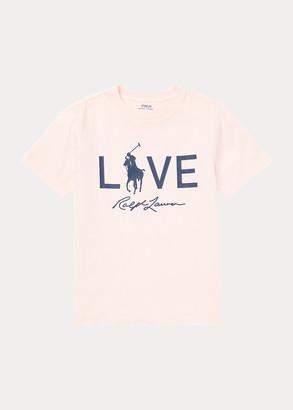 Ralph Lauren Pink Pony Live Love Tee