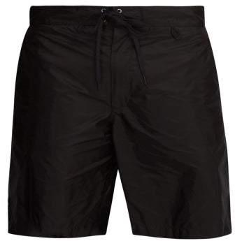 6081e3c6f3 Prada Black Men's Swimsuits - ShopStyle