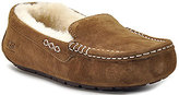UGG Ansley - Suede and Sheepskin Moccasin