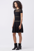Diane von Furstenberg Celina Fitted Knit Dress