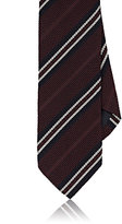Drakes Drake's Men's Striped Silk Necktie