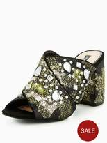 Miss Selfridge Chill Embellished Mule Sandal