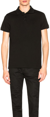 Saint Laurent Sport Polo in Black | FWRD