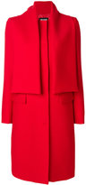 MSGM double panel coat - women - Polyester/Spandex/Elastane/Viscose/Virgin Wool - 42