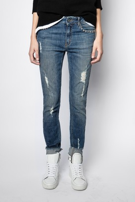 Zadig & Voltaire Eva Use Jeans