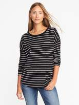 Old Navy Loose Sweater-Knit Jersey Top