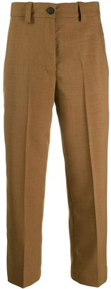 Erika Cavallini Cropped Tailored Trousers