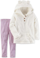 Carter's 2-Pc. Faux-Fur Hoodie & Leggings Set, Little Girls (2-6X) & Big Girls (7-16)