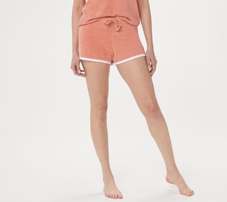 Barefoot Dreams Cozychic Ultra Lite Contrast Tipped Shorts