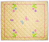 The Well Appointed House BARGAIN BASEMENT ITEM: Butterfly Floor Quilt-Available in Two Different Sizes
