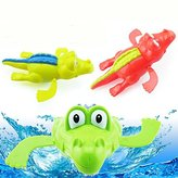 Sealive Baby Bath Swimming Toy Crocodile Wind Up Clockwork Play Swimming Alligator for Kid Educational Toys Infant Crocodile Gift 2PCS
