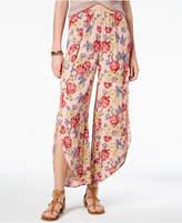 American Rag Juniors' Floral-Print Split-Leg Culottes, Created for Macy's